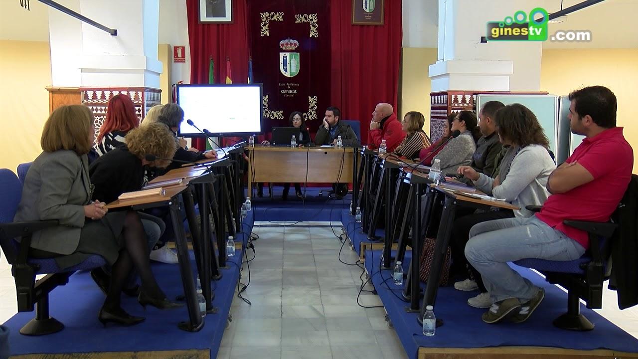 Pleno Extraordinario del Ayuntamiento de Gines - 6 de noviembre de 2018