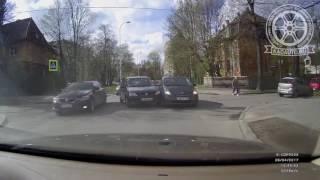 Кто виноват в ДТП на Некрасова в Калининграде? 26.04.17