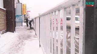 Ограды у «Кудайбергена». Что говорят работники СТО?