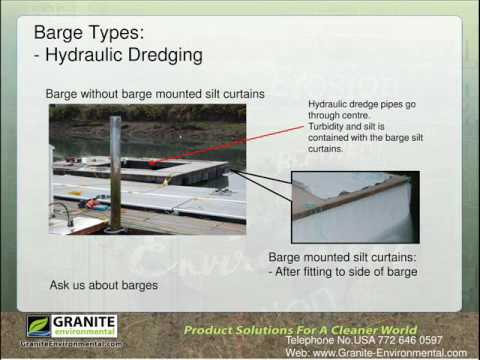 Granite Environmental: Barge Silt Barrier For Turbidity Control At Hydraulic Dredging Zones