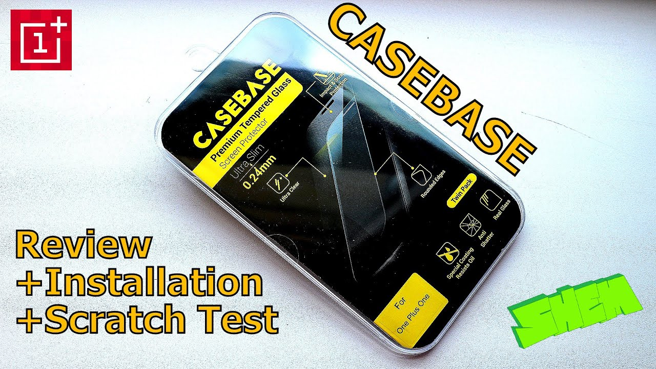 competitive price b57cf 16209 VIDEO] CaseBase Tempered Glass Screen Protector Review + ...