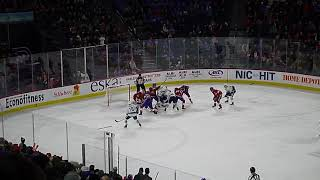 Charlie Lindgren of Laval Rocket makes big saves to preserve his team's win vs. Utica Comets 3/3/19