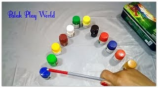 Kids colours learning video/Nursery kids learning video # Palak play world.