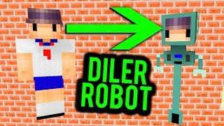 Minecraft ZIELONA SZKOŁA - ZMIENIŁEM SIĘ W ROBOTA! #3