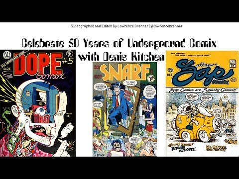 Celebrate 50 Years of Underground Comix with Denis Kitchen at SDCC 2017