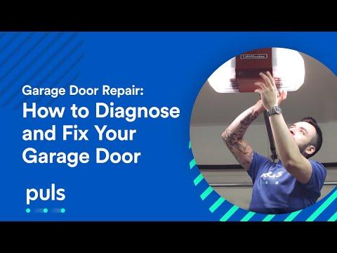 Garage Door Repair: How to Diagnose and Fix Your Garage Door