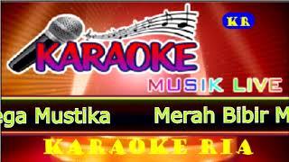 Merah Bibir Merah Ini ~ Mega Mustika (Karaoke Dangdut)
