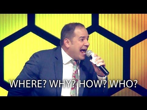 """Where? Why? How? Who?"" - Cortt Chavis"