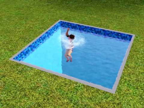 The Sims 3 - Child Drowns - YouTube