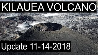 NEWS UPDATE Hawaii Kilauea Volcano Eruption Lava Report 11/14/2018