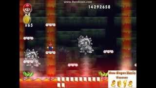 New Super Mario Forever - 8-14 Bowser Fortress and Ending