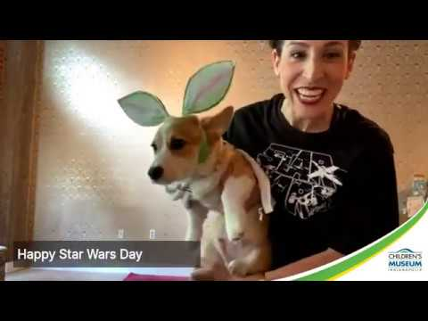 Yoda Yoga, May the 4th be with You | Museum at Home