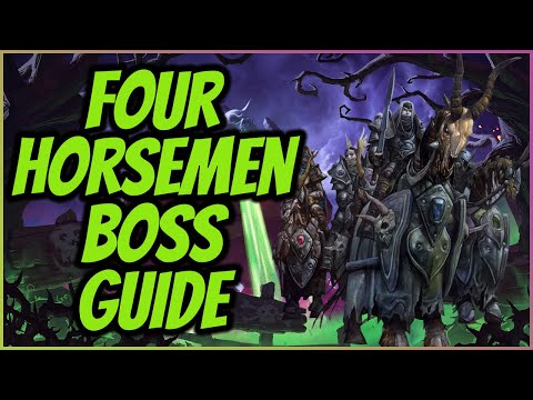 Wow Classic Naxxramas Boss Guide - The Four Horsemen