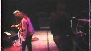 X the band Live in 1987 3 blistering songs John Doe, Exene Cervenka