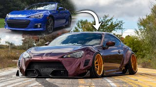 Building a BRZ in 10 MINUTES! *INSANE TRANSFORMATION*