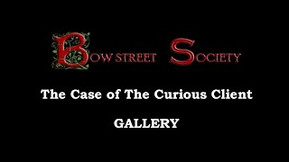 GALLERY [The Case of the Curious Client Book Trailer]