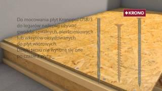пол, потолок OSB 3