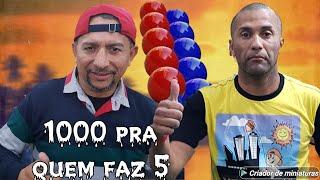 Baianinho x Cavalinho 1000 quem faz 5 Bola lisa dia 3/8/2019