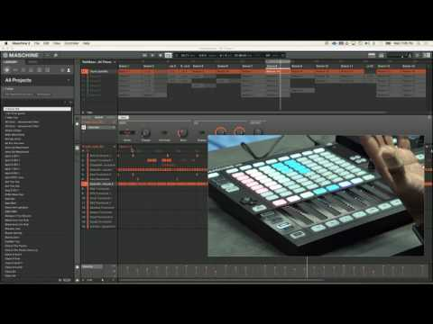NATIVE INSTRUMENTS LIVE - Maschine Jam (audio out of sync check synced version)