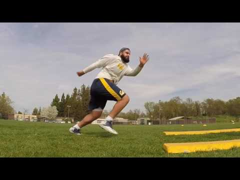 Offensive Lineman Football Training NFL Prep