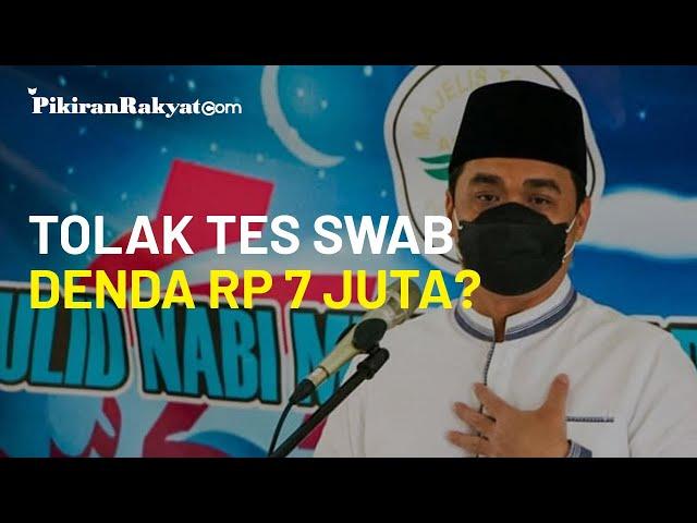 Siap-siap, Menolak Tes Usap Covid-19, Warga Jakarta Bisa Terancam Denda hingga Rp 7 Juta