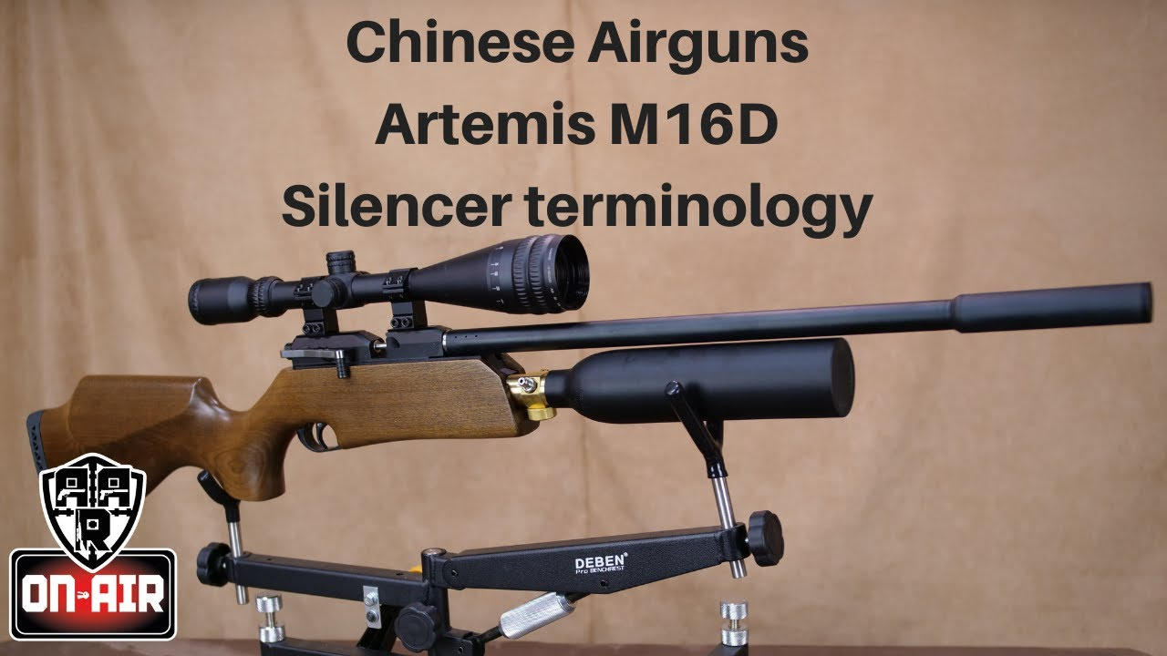 Artemis M16D, Chinese Airguns, Budget Regulator & What do you call a  Silencer