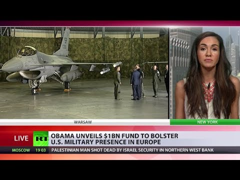 Diplomacy Now? With F-16 backdrop Obama pledges $1bn for military build-up, drills in Eastern Europe