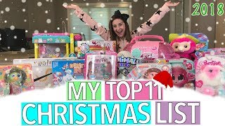 MY TOP 11 TOYS FOR CHRISTMAS 2018