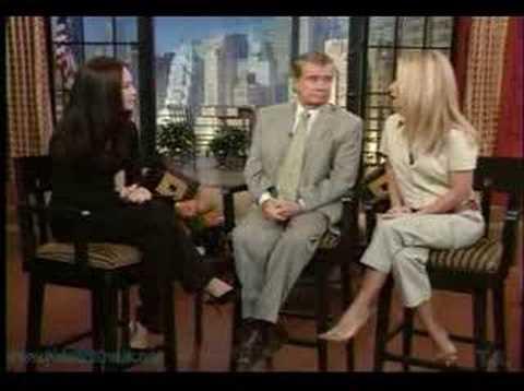 kristin Kreuk on Regis and Kelly