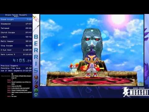 Brave Fencer Musashi Any% WR 02:11:01