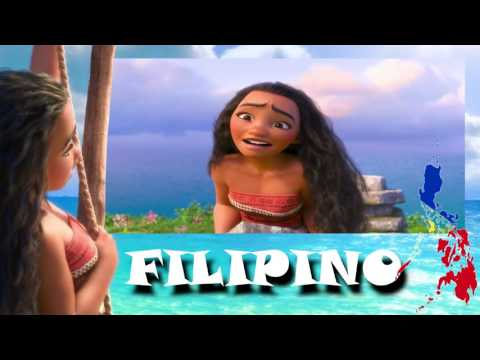 Moana - How Far I'll Go | Languages spoken in the Philippines (Multilanguage)