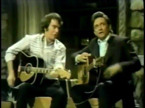 Neil Diamond on the Johnny Cash show 1970
