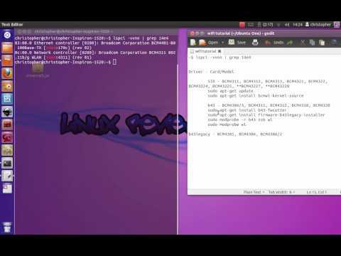 Installing WIFI drivers on Linux Ubuntu - Easy!
