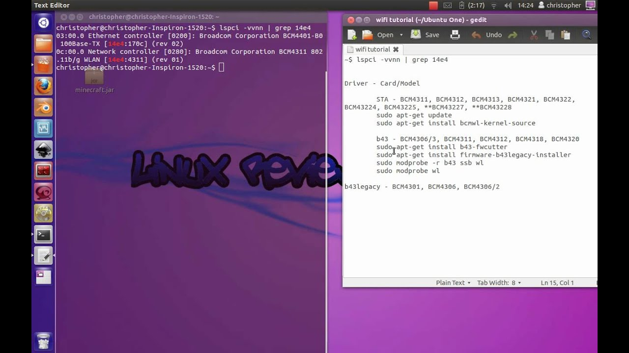 UBUNTU BCM4311 DRIVER FOR WINDOWS MAC