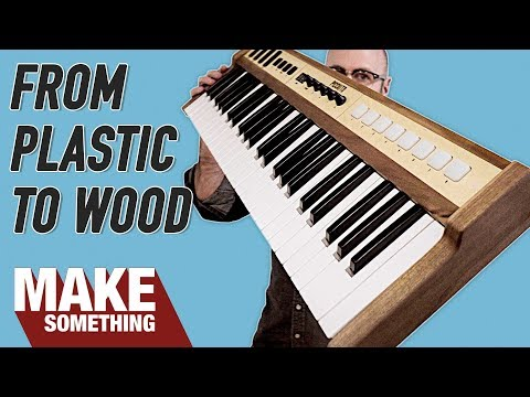 Plastic Shell to Wood Case Upcycle | Woodworking Project