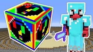 SPİRAL GÖKKUŞAĞI ŞANS BLOKLARI - Minecraft