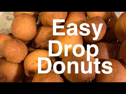 How to make Donuts (Drop Donuts)/ 🇨🇲Donuts