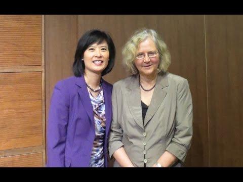 Dr Elizabeth Blackburn lecture at VIP BMO Event - Toronto, Canada May 15-2013