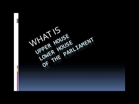 UPPER HOUSE VS LOWER HOUSE / WHAT IS LOKSABHA AND RAJYA SABHA