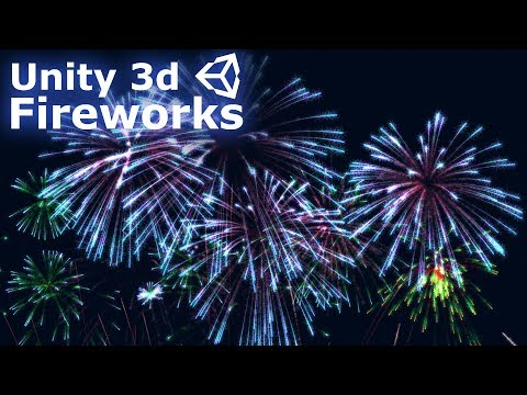 Unity 3D Particle Sub Emitters: Making Fireworks