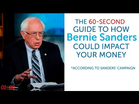 The 60-Second Guide to How Bernie Sanders Could Impact Your Money