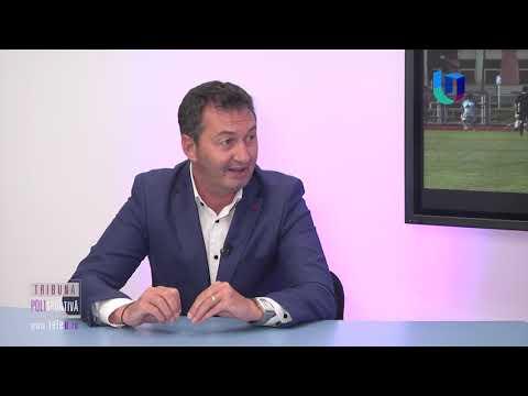 """TeleU: Marius Cociu la """"Tribuna polisportivă"""""""