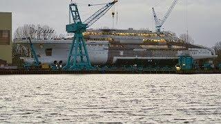 4K   Next MegaYacht Project OPUS / REDWOOD - Lürssen shipyard