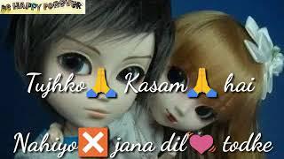 Beech Safar Mein Kahin Mera Saath Chhodke Tujhko Kasam Hai Naiyyo Jaana Dil Todke