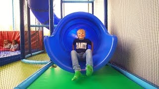 Fun Play For Kids At Bill & Bull's Lekland (indoor Playground Family Fun, As Busfabriken)