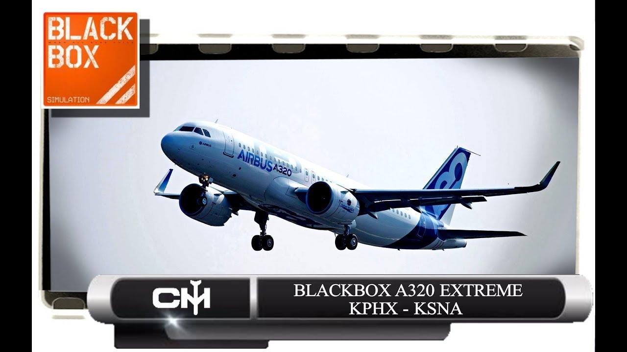 [P3D V4 1] BlackBox A320 Extreme | Full Flight Tutorial | KPHX to KSNA