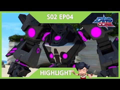[DinoCore] Highlight | 5 Combo Robot, Ultra D-Saber | Dinosaur Robot Animation | Season 2 EP04