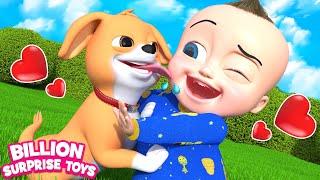 BINGO Nursery Rhyme for Kids | Billion Surprise Toys