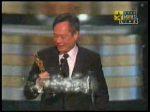 Best Director is Ang Lee