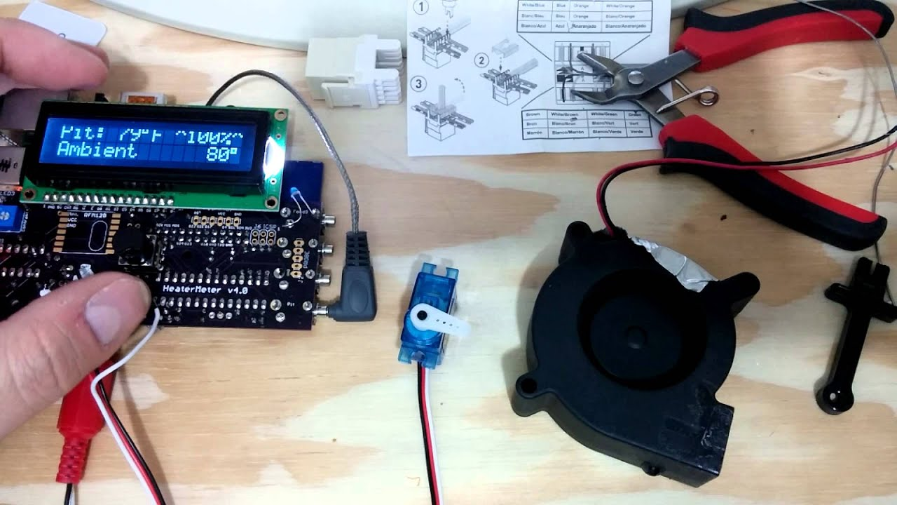Heatermeter Servo First Run